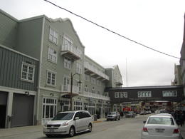 Old sardine canneries have been turned into swish hotels, restaurants and shops etc. , John W - May 2011