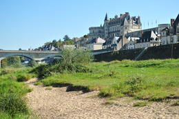 The Château d'Amboise dominates the landscape of the little town below it, nestled along the banks of the river Loire. , Mike B. - October 2011