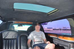 me in the limo very nice , peter - September 2011
