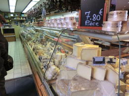 Cheese shop , Tony - December 2011