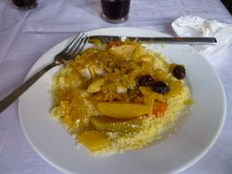 Couscous with chicken and vegetables, Kevin R - January 2010