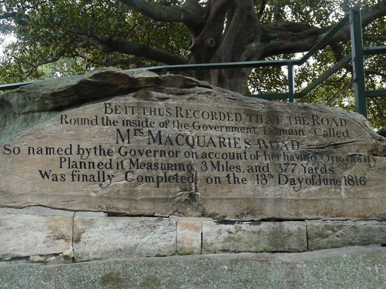 Mrs MacQuarie's Chair - Sydney