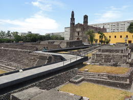 The Plaza of Three Cultures was the site where the Aztecs made their final stand against the Spanish conquistadors. , Kevin F - May 2013