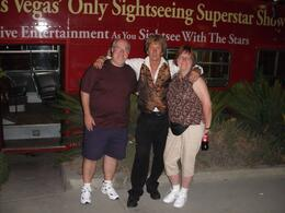 Posing with my wife and myself at the end of the tour -very gracious!, Daniel M - September 2009