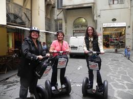 Getting ready to explore Florence via segway! - July 2011