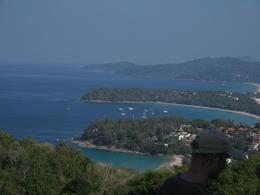 Lovely view of Karon, Kata Yai, and Kata Noi beaches from Promthep Cape., Choon Hon T - February 2008