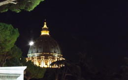 view from the vatican museum , C S - October 2012