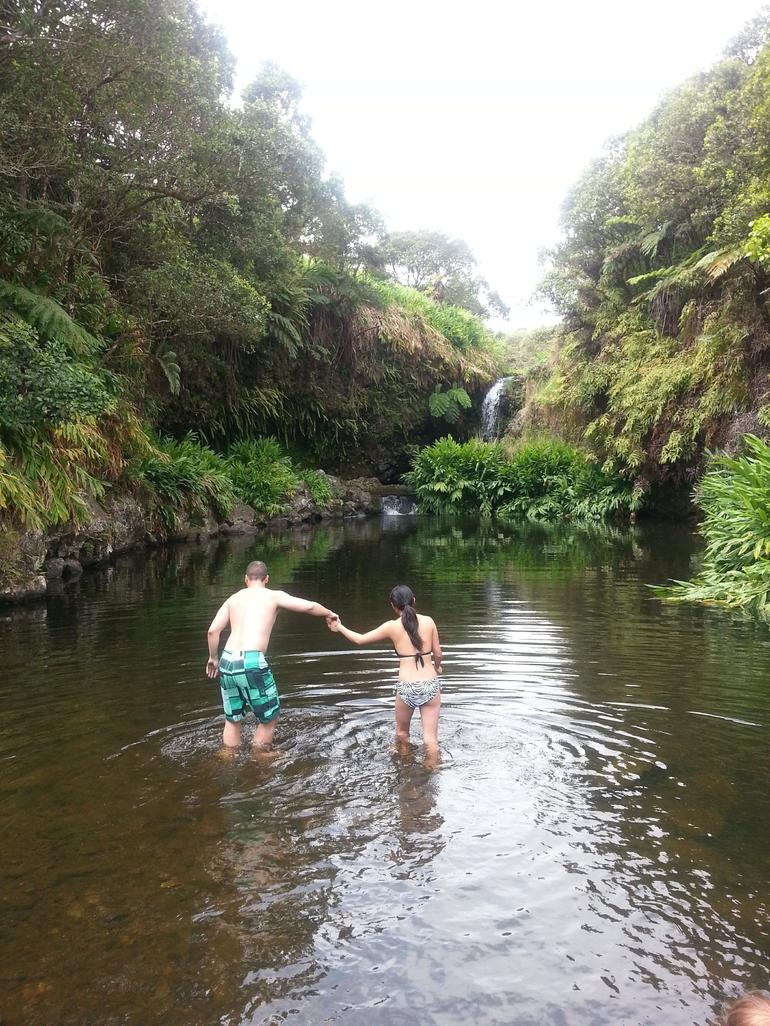 Swim stop - Big Island of Hawaii