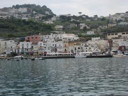 Arriving at Capri on the boat, Tara M - July 2009