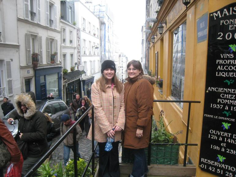 Us in Montmartre - Paris