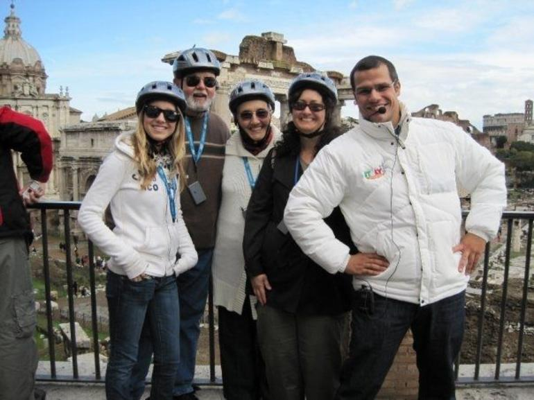 us with our Segway Guide @ the Roman Forum - Rome