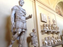 So many incredible statues to see at the Vatican Museum! , Chloe B - September 2015