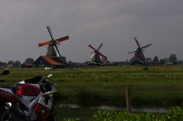 Panoramic view of the windmills, HARIZAN M - June 2010