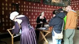 Stirling Castle - animation for the visitors , Irina O - May 2017