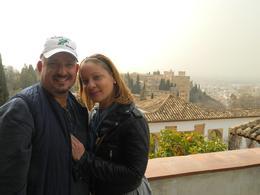 Gian P. Severini and Daysi Martinez at the Alhambra in Granada , Gian S - September 2017