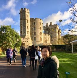Starting the tour at Windsor Castle , JOSEPH S - November 2017