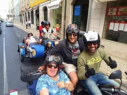 Sidecar fun in Lisbon!!! , mariagen64 - September 2016