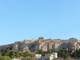 Acropolis from down in the city , Neverson J - September 2013