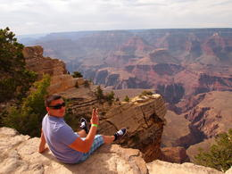 At the Grand Canyon South Rim , Marius S - June 2013