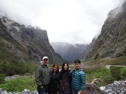 Tour group on route to Milford Sound , Andrew D - December 2013