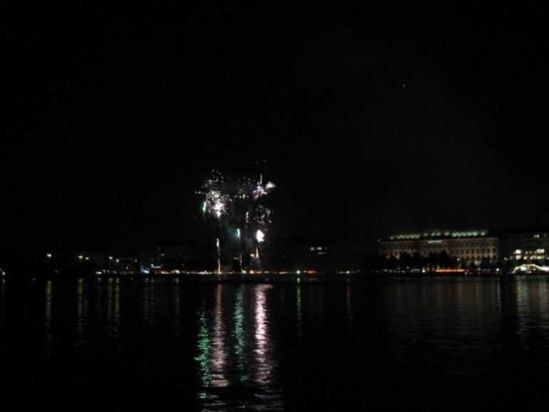 Fireworks over the Alster - Hamburg