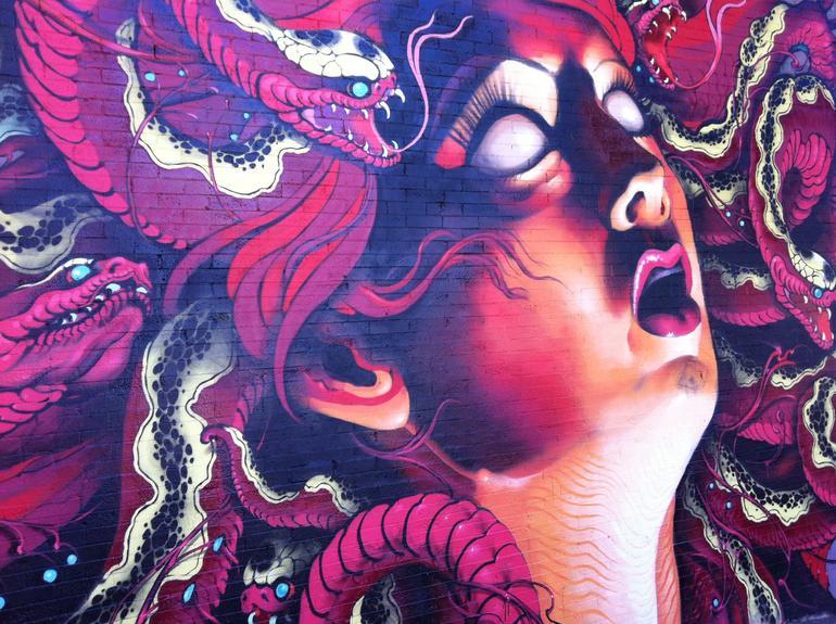 Giant mural - San Francisco