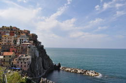 Taken from the panoramic trail we climbed to in our first town, Manarola. , Ashley H - September 2016