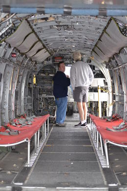 Inside another helicopter , Cathy T - April 2013