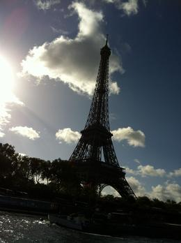The Eiffel Tower from the river cruise , Elizabeth W - October 2012