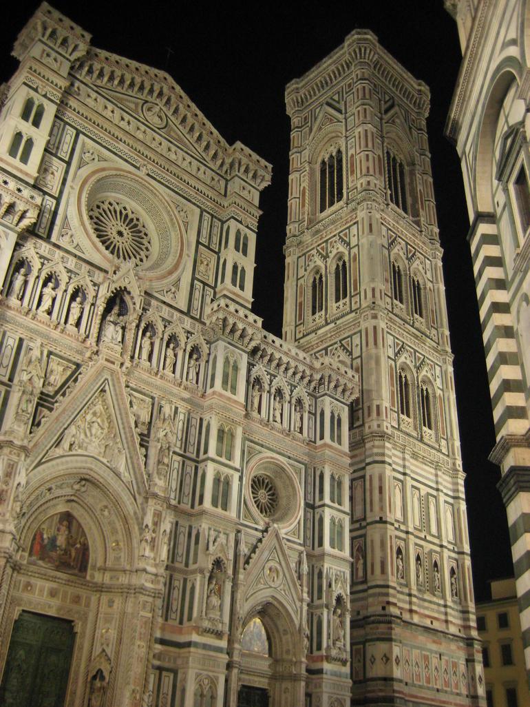 Giotto's Campanile and Basilica di Santa Maria del Fiore - Florence