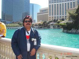 The Famous Bellagio Fountain Show , Tony - May 2012