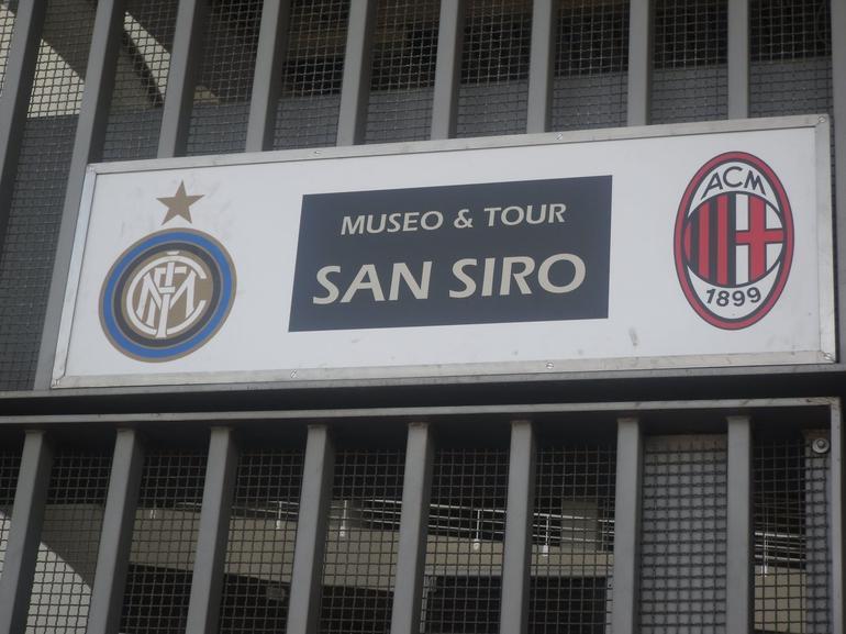 Milan Football San Siro Stadium Tour - Milan