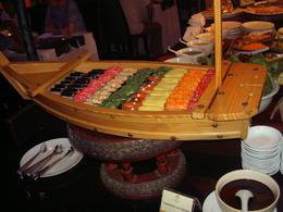 Buffet auf dem Schiff , Susanna R - November 2013
