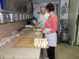 Learning and practising the hidden secrets for great croissants , Rachel G - September 2012