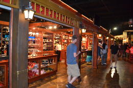 The gift shop where the kids just had a ball with all the pirates memorabilia, charley - March 2014