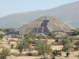The Pyramid of the Moon viewed from the Pyramid of the Sun. , Kevin F - May 2013