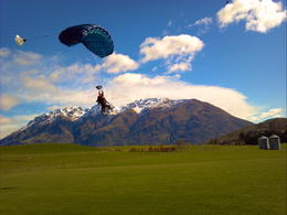 Queenstown Skydiving, Dusty Middleton - September 2012