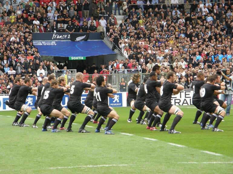 Rugby - New Zealand