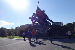The USMC Iwo Jima Memorial , Sherry G - October 2014