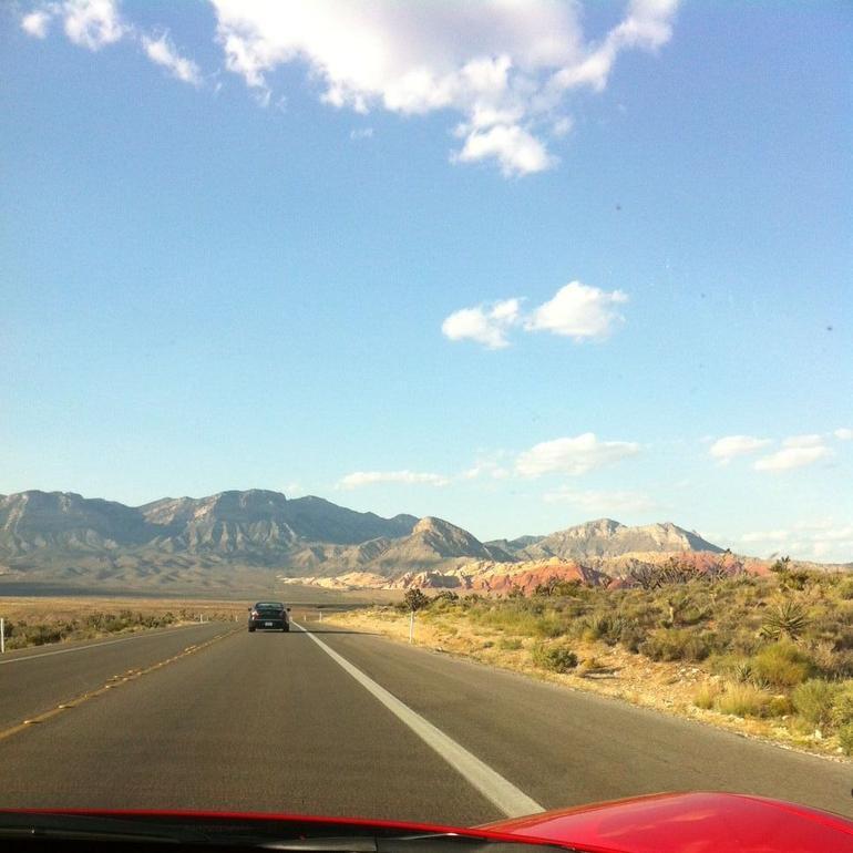 View of Red Rock - Las Vegas