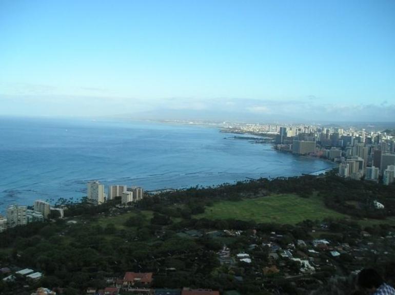 Waikiki from Diamond Head - Oahu