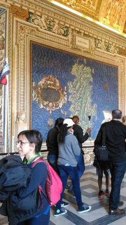 Illario in the Map Room of the Vatican Museums. , Peter C - April 2017