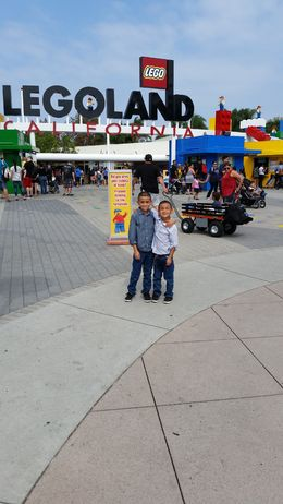 My kids excited for Legoland, gabilicousd0804 - October 2015