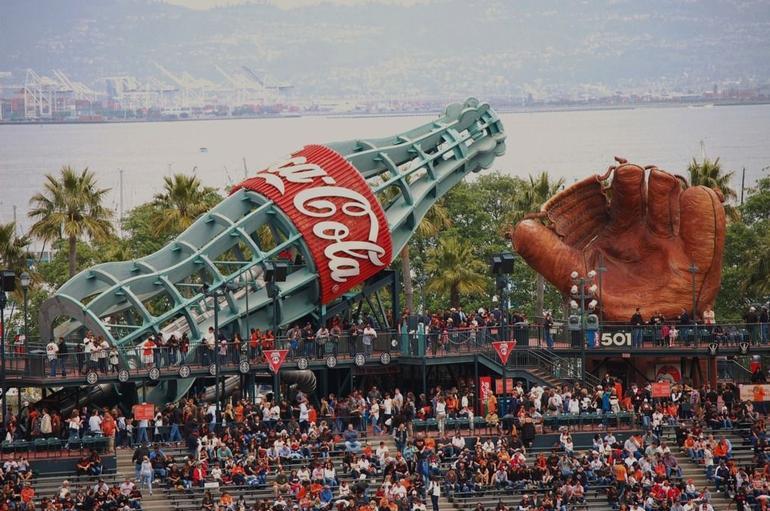 AT and T Ballpark Art - San Francisco