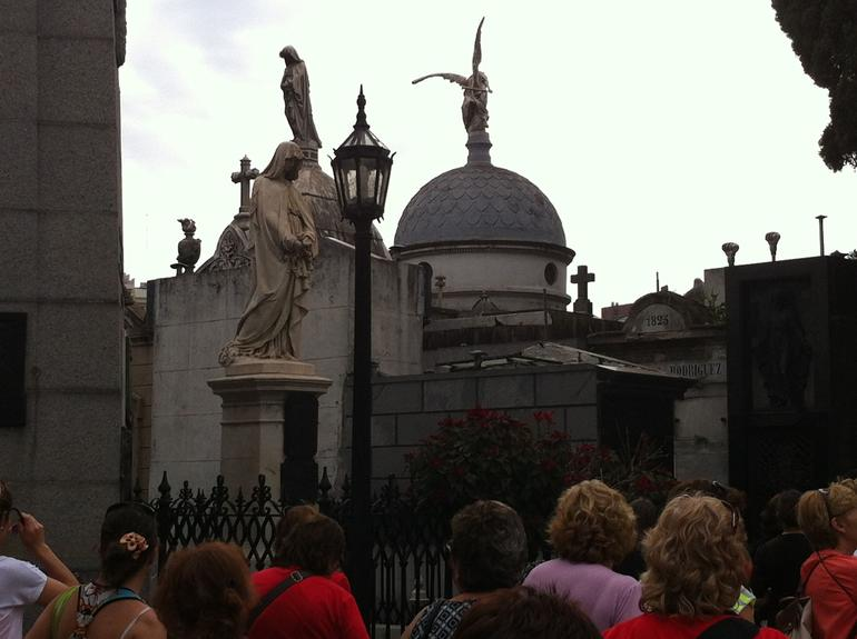 at Recoleta cemetery - Buenos Aires