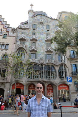 Casa Batllo, Jeff - September 2013