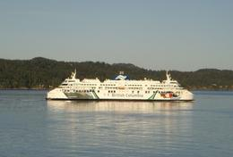 One of the new (2009) ferries between Vancouver and Victoria, Lester W - June 2009