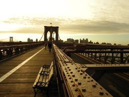 Brooklyn Bridge vue depuis la côté manhattan , PHILIPPE E - October 2014
