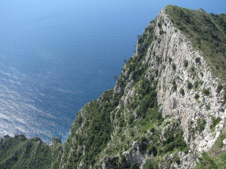 Cliff of Capri - Naples