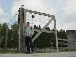 Bridge gateway to the Crematorium , Leanne C - April 2014